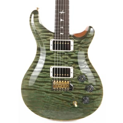 PRS DGT Wood Library 1-Piece Quilt Maple with East Indian Rosewood Neck Brazilian Rosewood Fretboard Trampas Green