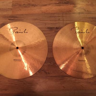 "Paiste 14"" Dimensions Light Hi-Hat Cymbals (Pair)"