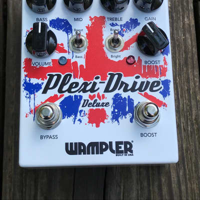Pre-Owned Wampler Plexi-Drive Deluxe British Overdrive Pedal V2 Used