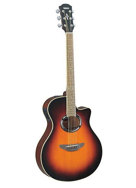 yamaha apxt2 acoustic electric guitar travel size old violin reverb. Black Bedroom Furniture Sets. Home Design Ideas