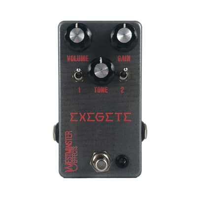 Westminster Effects WE-EXG Exegete Overdrive/Distortion/Fuzz Pedal