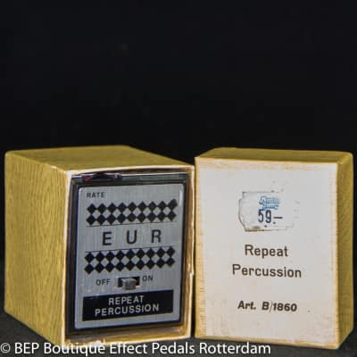EUR B/1860 Repeat Percussion ( Tremelo ) late 70's made in Italy