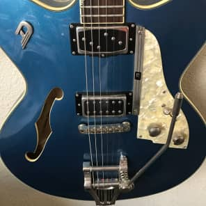 Duesenberg Fullerton Elite Series Semi-Hollow Electric Guitar Catalina Blue