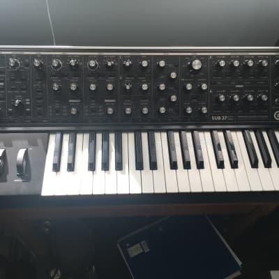 Moog Sub 37 Tribute Edition with gig bag