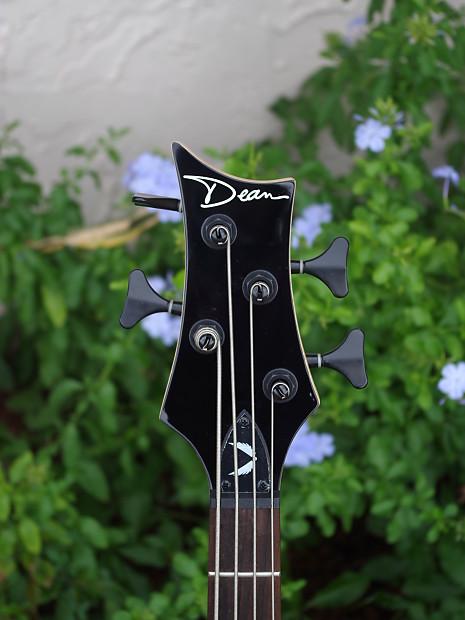 dean evo xm 4 string electric short scale bass guitar satin reverb. Black Bedroom Furniture Sets. Home Design Ideas