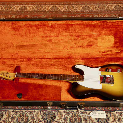 Fender Vintage '68 Esquire w/Case - 3-Colour Sunburst - Pre-Owned for sale