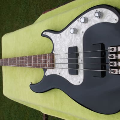 Peavey Axcelerator 2-T Electric Bass Guitar with Hard Shell Case for sale