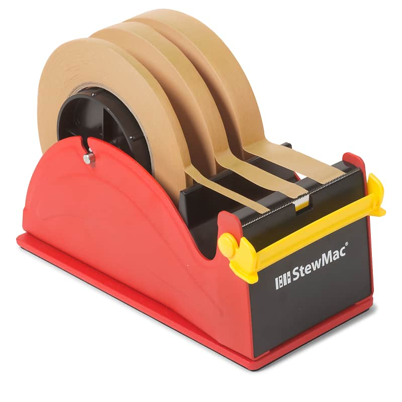 StewMac Brown Binding Tape With Guitar Shop Tape Deck