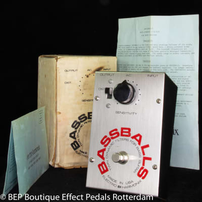 Electro-Harmonix Bassballs Envelope Filter 1978 USA as used by Roger Waters ( The Wall Tour ).
