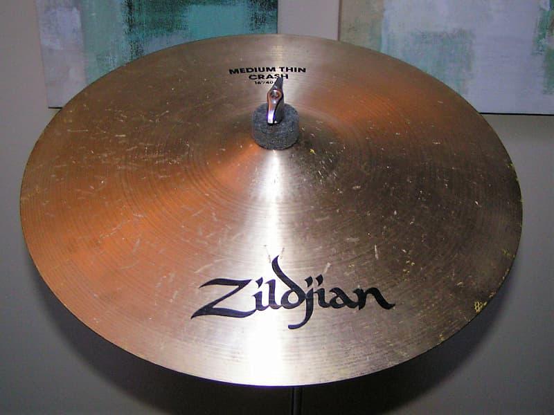 zildjian 16 medium thin vintage crash cymbal 1150 reverb. Black Bedroom Furniture Sets. Home Design Ideas