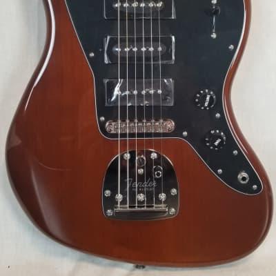 Fender Noventa Jazzmaster Electric Guitar Pau Ferro Fingerboard, Walnut W/ Deluxe Gig Bag for sale