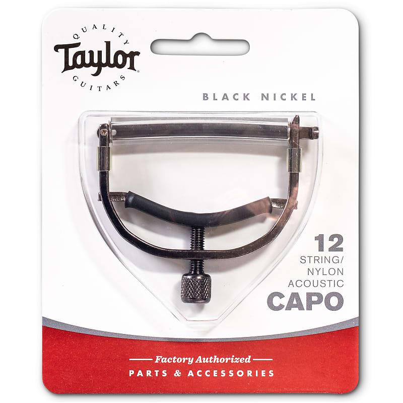 Taylor Capo, 12-String/Nylon, Black Nickel