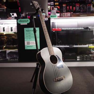 Ibanez PCBE14MH WK Acoustic/Electric Bass Guitar - Weathered Black for sale