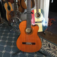 Aria Pro II Classical/Electric Guitar 1980's Natural Rosewood for sale