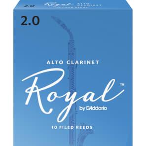 Rico RDB1020 Royal Eb Clarinet Reeds - Strength 2.0 (10-Pack)