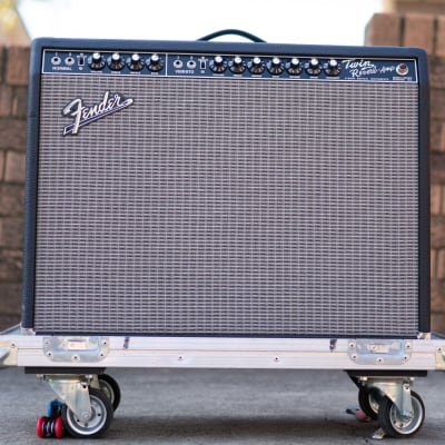 James Burton's Fender '65 Twin Reverb WITH Road Case - Reissue 85W 2x12 Amp