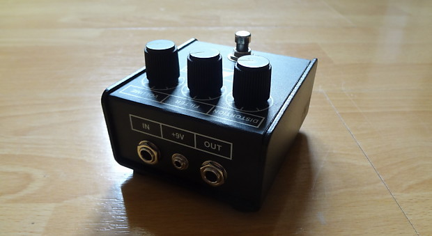 proco rat distortion pedal lm308 chip reverb. Black Bedroom Furniture Sets. Home Design Ideas