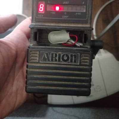 Arion Hu-8500 Guitar Tuner Pedal Mij 80s for sale