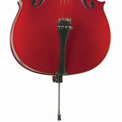 Becker 375 Prelude Series 1/4 Size Cello - Polished Red-Brown Satin Finish