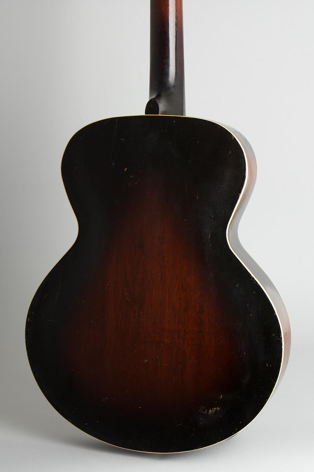 Kalamazoo  KG-31 Arch Top Acoustic Guitar,  c. 1936, NO CASE case.