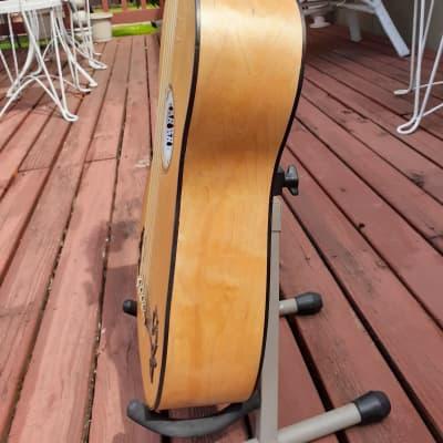 Strad copy English built Baroque guitar. for sale