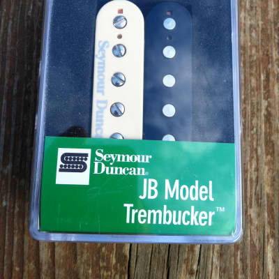 Seymour Duncan TB-4 JB Trembucker Humbucker Pickup ZEBRA Guitar - NEW image