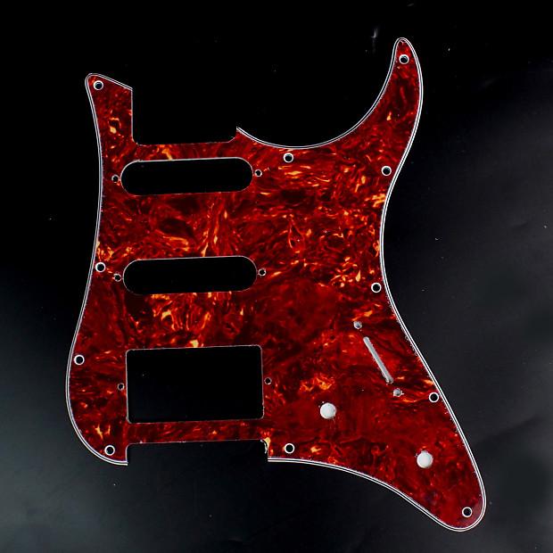 Custom Guitar Pickguard For YAMAHA Pacifica EG 112 EG112 PAC112V 4Ply Red Tortoise