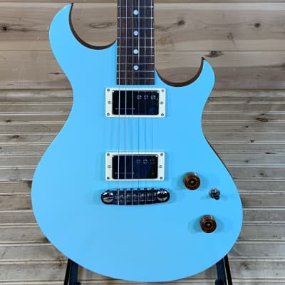 Clay Avenue Guitars The Boxer Electric Guitar USED -  Sky Blue for sale