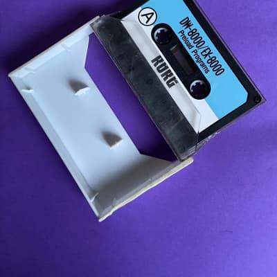 Korg DW-8000 / EX-8000 Original Data Cassette Tape