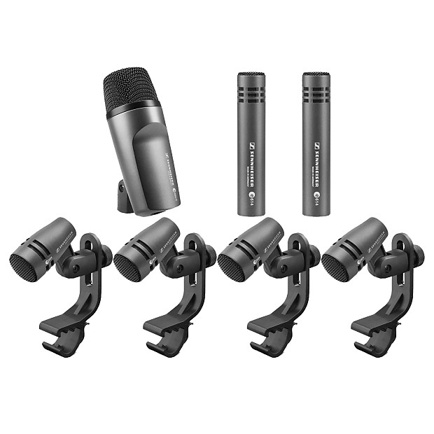 sennheiser e600 drum set microphone kit unique squared reverb. Black Bedroom Furniture Sets. Home Design Ideas