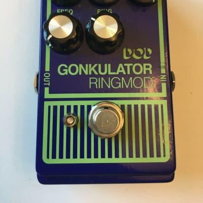 DOD Digitech Gonkulator Ringmod Ring Modulator Distortion Guitar Effect Pedal for sale