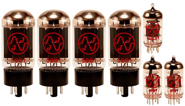 Tube Brand for Fender Bassman Top 70-watt Tube Set JJ Electronics