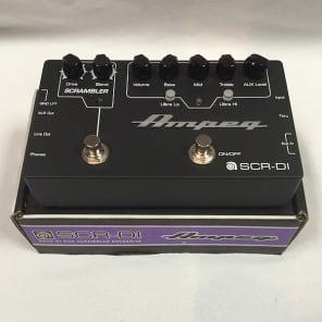 Ampeg SCR‑DI Bass DI Preamp with Scrambler Overdrive Pedal