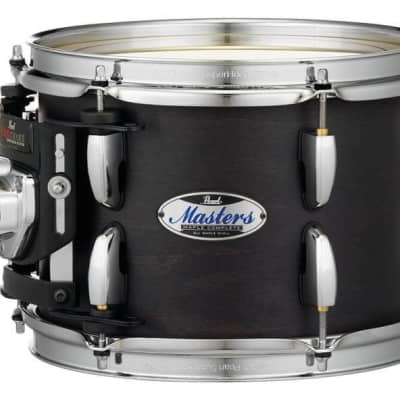"Pearl Masters Maple Complete 22""x18"" Bass Drum - Matte Black Mist"