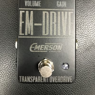Emerson EM-Drive Transparent Overdrive LTD Black for sale