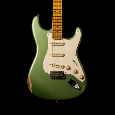 Fender Stratocaster '57 Relic Sage Green Metallic for sale
