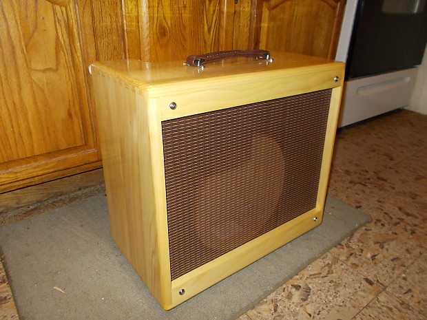 1x10 TRM extension guitar cabinet 110 Vintage tweed style.   Reverb