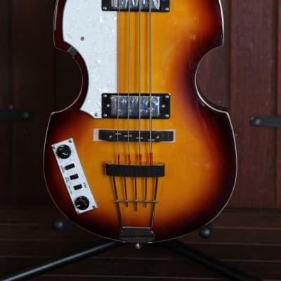 Hofner Ignition Series Violin Beatle Bass Left Handed with Gig Bag for sale