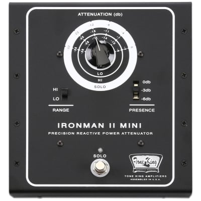 Tone King Ironman II Mini 30-Watt Precision Reactive Power Attenuator