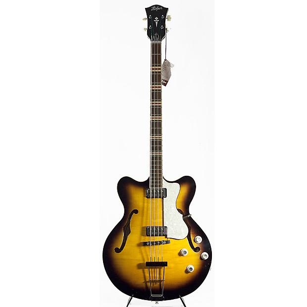 hofner contemporary series verythin bass guitar sunburst. Black Bedroom Furniture Sets. Home Design Ideas
