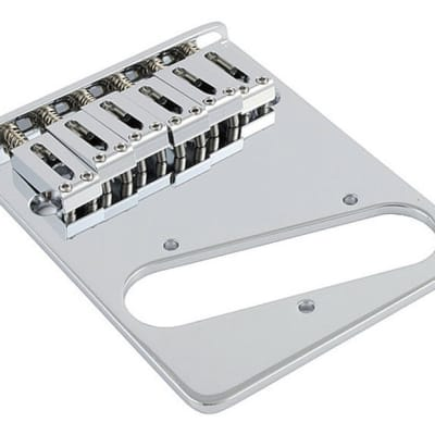 Allparts contemporary Tele bridge - Chrome for sale