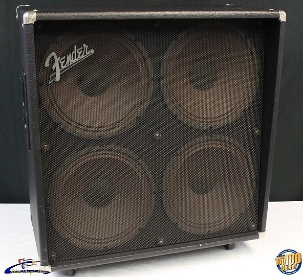 fender ge 412 4x12 guitar amplifier speaker cabinet works reverb. Black Bedroom Furniture Sets. Home Design Ideas
