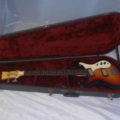 Univox Hi-Flyer Bass Sunburst for sale