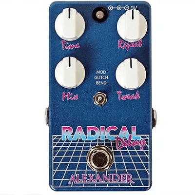Alexander Pedals Radical Delay Pedal