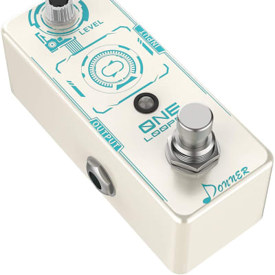 ONE Looper Guitar Effect Pedal, 10 minutes of Looping (Brand New Model)
