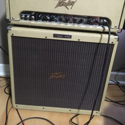 Peavey Classic 50 Tweed Head And 4x10 Cabinet