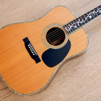 1970's K. Country HC-1500 Dreadnought Acoustic Guitar Spruce & Jacaranda, Japan Kasuga w/ Case for sale