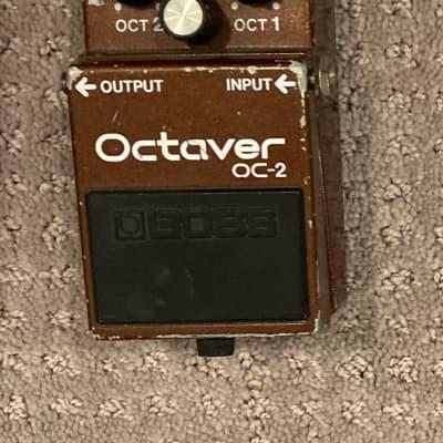 Boss OC-2 Octave (Black Label) 1984 - 1989 Brown