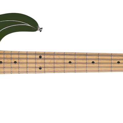 Sterling by Music Man Ray5 Olive StingRay Electric Bass Guitar for sale