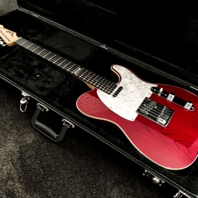 ESP Custom Guitars Vintage Plus Telecaster 1996 - Candy Apple Red + CASE for sale